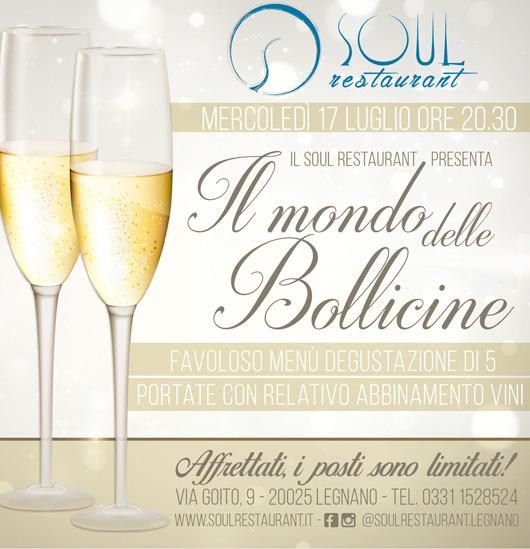 Il Soul Restaurant è lieto di invitarti ad un evento speciale…
