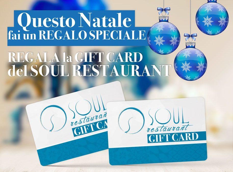 Questo Natale regala la Gift Card del Soul Restaurant